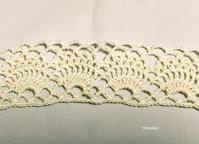 編み進めています♪3 - ルーマニアン・マクラメに魅せられて