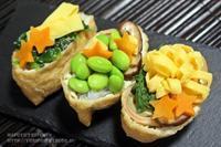 【ぎふベジ】ぎふベジでオープンいなり寿司~七夕の素麺いなりと野菜いなり。 - スパイスと薬膳と。