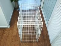 ●ズボラ流~超便利!100均のワイヤーネットで作るスライド棚 - 片付けられない&忙しい女性のための「片付け・収納・捨てるコツ」