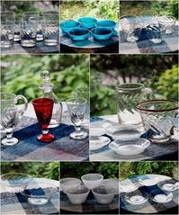 倉敷ガラスの食器 - ひとりあそび