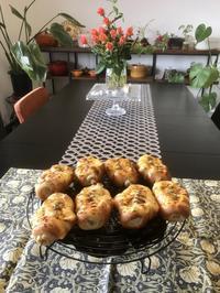 久しぶりの『ちくわパン』 - カフェ気分なパン教室  *・゜゚・*ローズのマリ