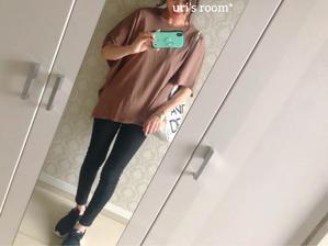 涼しく楽ちん、プチプラTシャツ? - uri's room* 心地よくて美味しい暮らし