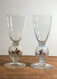 Stevens & Williams Horse Figure in Ball Stem Glass - GALLERY GRACE ギャラリーグレース BLOG
