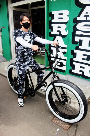 ブロンクスチョッパー  札幌ファットバイク。 - 13ROCK(ヒサロック) 札幌 ビーチクルーザーパラダイス