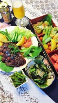 ■居酒屋メニュー【娘夫婦とオンライン飲み会をしました^^♪料理はLINEで共有です。】 - 「料理と趣味の部屋」