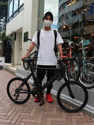 7月12日 渋谷 原宿 の自転車屋 FLAME bike前です - かずりんブログ