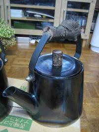 信州のーお客様からのオーダー…鉄瓶 - 金属造形工房のお仕事