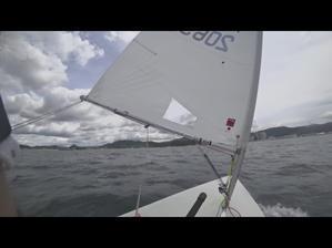 3艇でのレーザートレーニング - Siesta Sailing Team