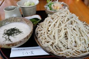 とろろ蕎麦 そば処「いい友」常陸太田市高貫町 2020・07・12 - 常陸のT's BLOG