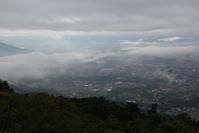 秩父美の山公園の展望台からの雲海その1 - 日本あちこち撮り歩記