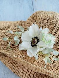 帽子コサージュ - Bonbon Fleur ~ Jours heureux  コサージュ&和装髪飾りボンボン・フルール