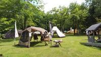 7月11日、12日に当麻キャンプ場にてキャンプテント展示会が開催されました! - 秀岳荘みんなのブログ!!