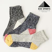KEE SPORTS [キースポーツ] PANEL ANCLE SOCKS 3P [KES004] パネル アンクル ソックス・コットン・ソックス・靴下・MEN'S / LADY'S - refalt blog