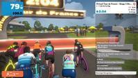 7/14(火)バーチャル・ツールドフランスステージ3 と、筋持久力トレーニング。 - きりのロードバイク日記