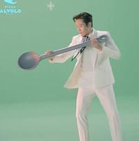 「ビョンホンと一緒にアルボルで広告撮影現場大公開!」+「イ・ビョンホンバスシェルターファン広告」7/14(火) - あばばいな~~~。