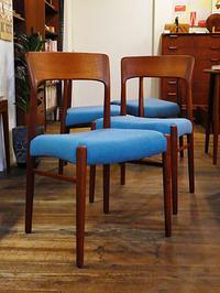 Dining chair (Henning Kjaernulf) - hails blog