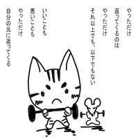 明日のわたしは、今日のわたしが創りだす - ぎんネコ☆はうす