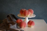 とびっきりの桃でデザート - Smart chic