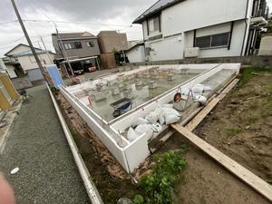 Q1住宅L2秋田03:基礎 - 家づくり西方設計