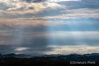 天気予報に迷った朝 - 撃沈風景写真