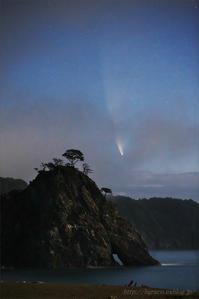 ネオワイズ彗星 (C/2020F3) 7月14日撮影 Vol.2 - 遥かなる月光の旅