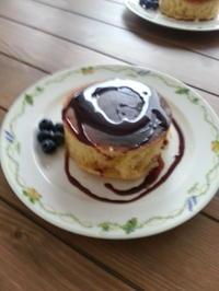 手作りホットケーキとパン - Petit mame