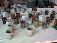 カップ - お茶畑の間から ~ Ke-yaki Pottery
