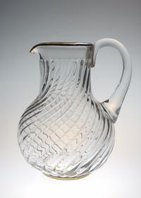 Baccarat Bambous Pitcher With Goldline - GALLERY GRACE ギャラリーグレース BLOG