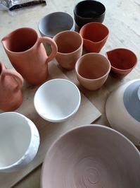 ■4か月ぶりの陶芸サロン■ - ちょこっと陶芸