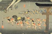 宮・桑名(広重『東海道五十三次』) - 気ままに江戸♪  散歩・味・読書の記録