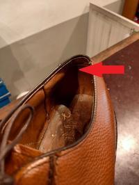 【腰裏直し方】コードバン補強篇 - Shoe Care & Shoe Order 「FANS.浅草本店」M.Mowbray Shop
