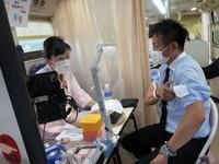 パルコタウンに献血車が来ました! - パルコホーム スタッフブログ