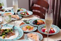 「果実なディナー」久しぶりのお客様でした♪ - 登志子のキッチン