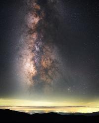 立ち昇る銀河 - Qualia