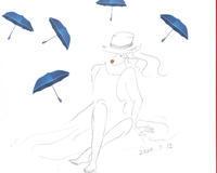 梅雨の晴れ間の英語時間 - おうち日常 *あい色絵風景