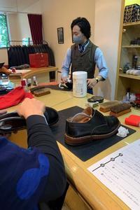 【靴磨きと、プレスのワークショップ】 - たっちゃん!ふり~すたいる?ふっとぼ~る。  フットサル 個人参加フットサル 石川県