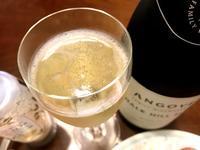 スパークリングワインでブランチ♪@下界の自宅にて - よく飲むオバチャン☆本日のメニュー