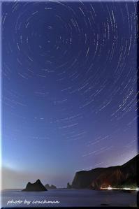 積丹の岬でグルグル - 北海道photo一撮り旅