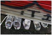 つぶされた靴 -  one's  heart