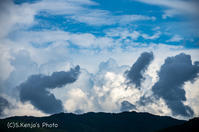 夏の天気 - 撃沈風景写真