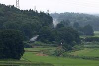 緑に埋もれるように走る汽車- 2020年梅雨・真岡鉄道 - - ねこの撮った汽車