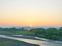オジロワシ2020/07/20 - 今朝の一枚 石狩川の朝