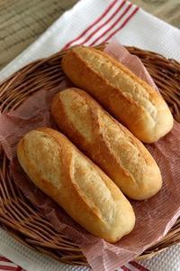 パン教室で「ソフトフランス」 - Takacoco Kitchen
