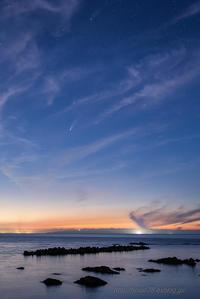 ネオワイズ彗星 Ⅱ - デジタルで見ていた風景