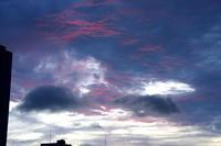 雨雲に赤紫の「彩雲」が現れて~ - 隠居お勉強帖