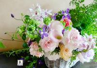 7月にお届けした「季節のお花便り」です - Bouquets_ryoko