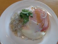 がっつりハムエッグご飯、お粥セット、麩まんじゅう - Hanakenhana's Blog