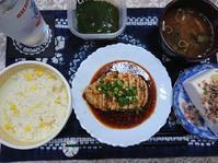 7/21夜勤前飯とうもろこしの炊き込みご飯、サラダチキン で よだれ鶏@自宅 - 無駄遣いな日々
