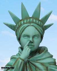 Banksy's Liberty Girl Freedom Edition by Brandalised - 下呂温泉 留之助商店 入荷新着情報