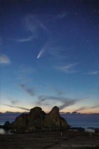 ネオワイズ彗星 (C/2020F3) 7月19日 山形県 Vol.1 - 遥かなる月光の旅